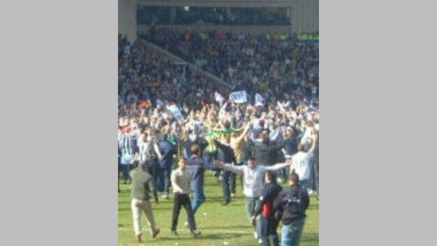 West Brom Celebrate