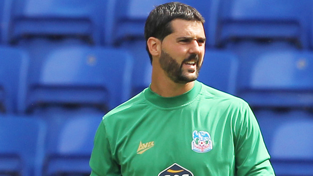 Julian Speroni's parry led to Southampton scoring