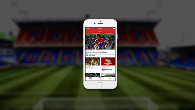Holmesdale Online app for iOS