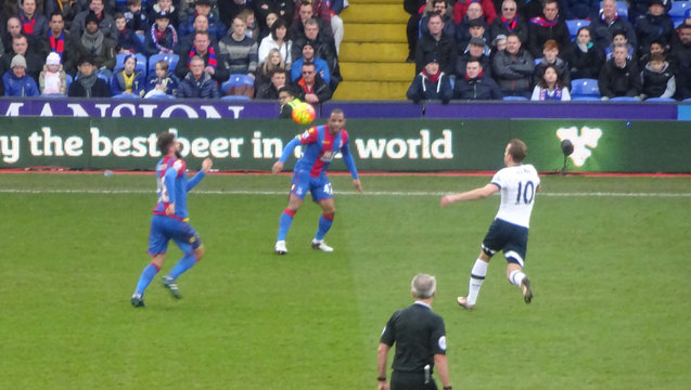 Square dancing: Ledley, Puncheon, Kane and Mr M Atkinson in the frame for the defeat by Spurs