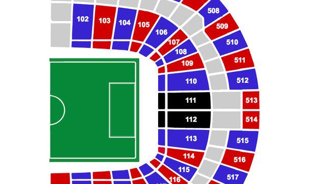 Wembley Map