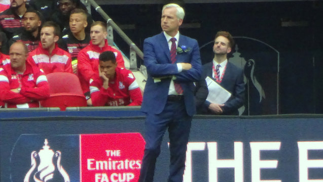 Pards took the Eagles to Wembley but it was to a 1-2 defeat