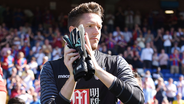Wayne Hennessey made a series of good saves