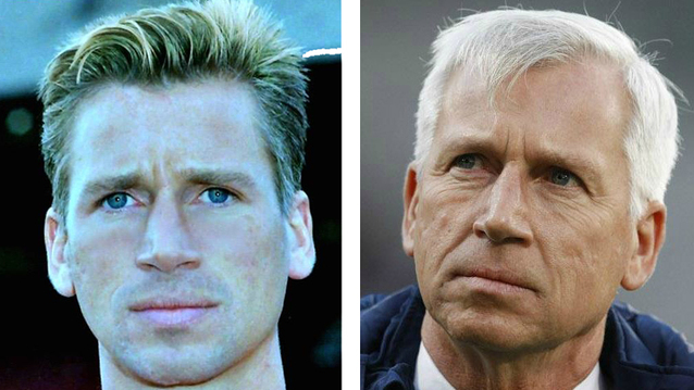 Alan Pardew...once a footballer, then a manager.