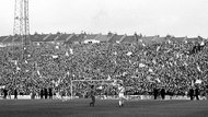 The way we were... the Holmesdale when everybody stood and sang...