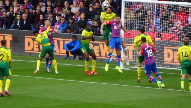 Strangleholds? Robust play from Norwich as the two sides grapple