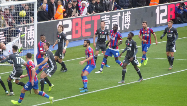 Palace attack Schmeichel's net but Leicester often looked more like scoring