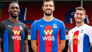 CPFC kits for 2020/21