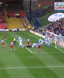 Darren Ambrose scores against Coventry