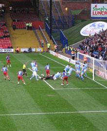 Darren Ambrose scores against Coventry