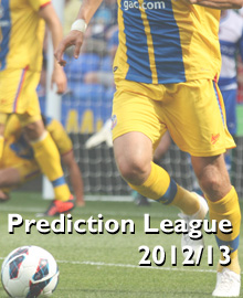 Prediction League 2012/13