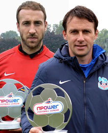 Player and Manager of the Month for September