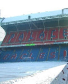 Palace looking to freeze out Wednesday