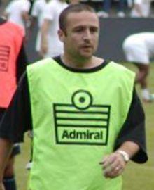 Hughes scored the winning penalty
