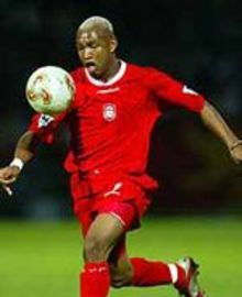 Diouf's spitballs were enormous