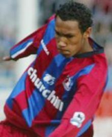 Fitz Hall scored Palace's first