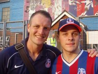 steven cowell from welllingborough with clint hill