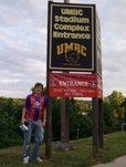 Kieran Kaye at Crystal Palace USA stadium in Baltimore, Maryland