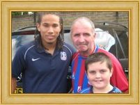 Trevor and Gary with Sean Scannell