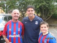 Trevor and Gary with Julian Speroni