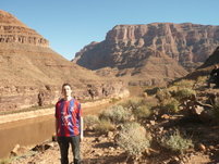 Penge Eagle at the Grand Canyon