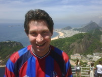 Keith in Rio Jan 2011