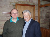 Phil Nicholson with Charlie Cooke