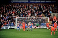 Crystal Palace V Millwal (Oct 2012) Millwall Penalty.jpg