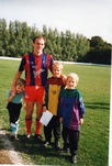 Steve Coppell with Dave and Steve Holman
