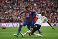 Palace v Man Utd action shots