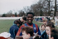 England International Chris Powell - before he ran off to the circus