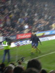 Blurred pic, I think it is Vieira and Reyes