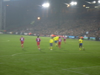 Palace run out of defence