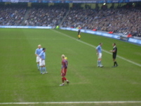 AJ having won the free kick from which we scored.JPG