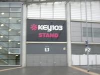 The Key 103 stand - where we sat.JPG