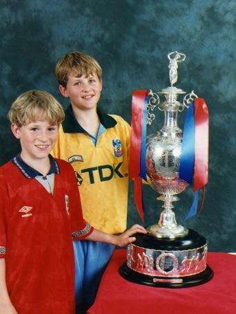 Dave and Steve Holman - August 94