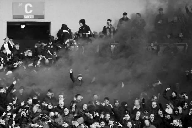 Holmesdale Fanatics at Brighton
