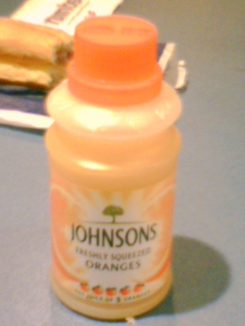 Johnsons Orange...