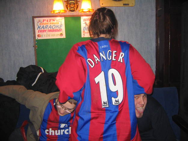 A_JsShorts in Dangers shirt